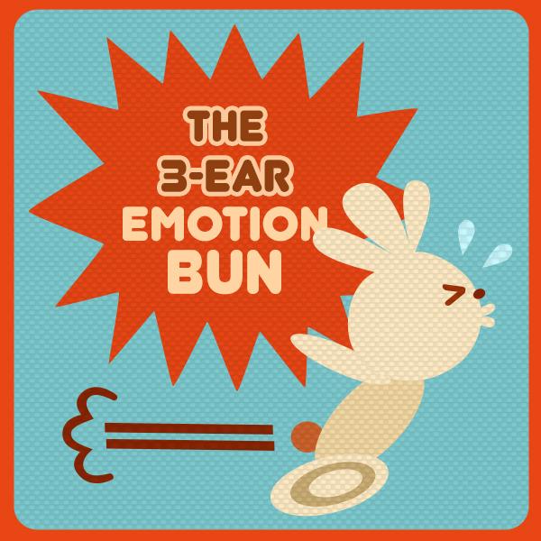 The 3-ear Emotion Bun