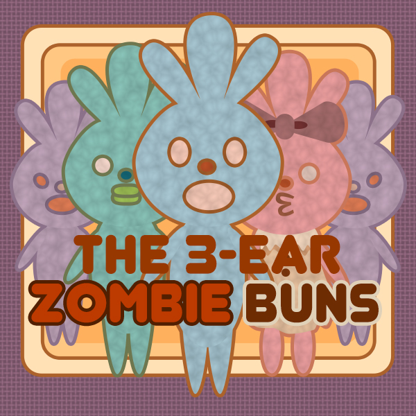 The 3-ear Zombie Buns