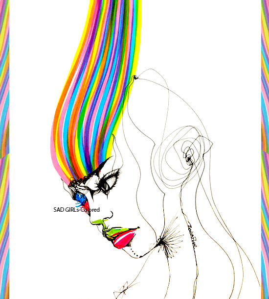 SAD GIRLs-Colored